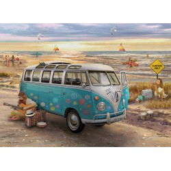 Puzzle 1000 pièces - The Love & Hope VW Bus