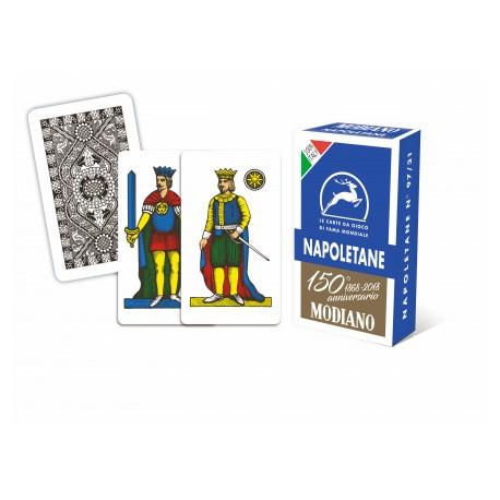 Cartes à jouer Napolitaine Bleu 97/31