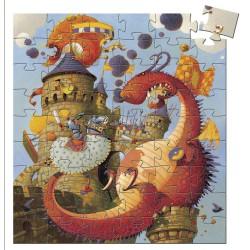 Puzzle 54 pièces - Vaillant & les Dragons