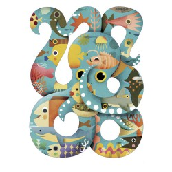 Puzzle 350 pièces - Octopus - Puzz' art