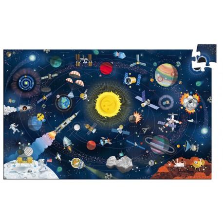 Puzzle 200 pièces - Observation L'Espace + Livret