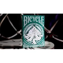 Cartes à Bicycle Dragon vert