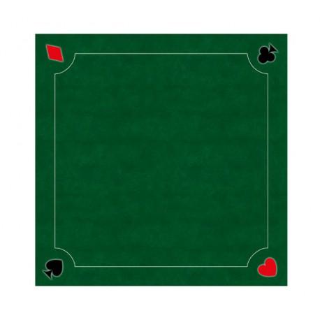 Tapis de Cartes Prestige Multi-jeux Vert 60cm