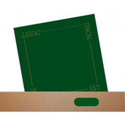 Tapis de Cartes Feutrine Verte 60cm Qualité Supérieure