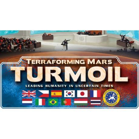 Terraforming Mars extension Kickstarter Turmoil