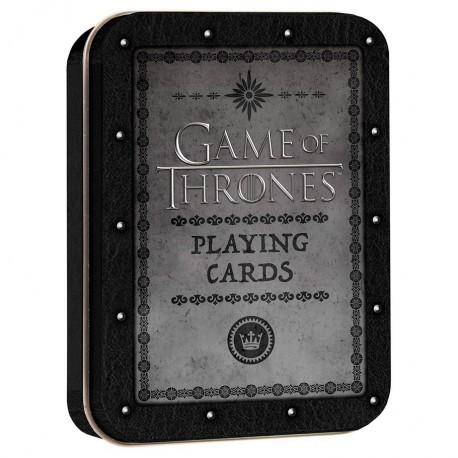 Cartes à jouer Game of Thrones - Coffret Premium
