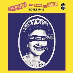 Puzzle 500 pièces - Sex Pistols - God Save the Queen