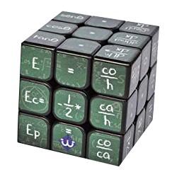 Cube 3x3 Formules de Mathématiques et de Physique - Green
