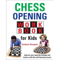Burgess - Chess opening workbook for kids