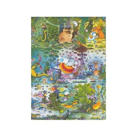 Puzzle 1500 pièces - Wildlife