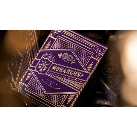 Cartes à jouer Monarch Purple Royal