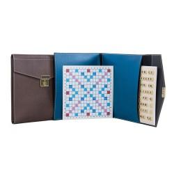 Scrabble duplicate de luxe magnétique bleu turquoise