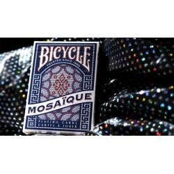 Cartes à jouer Bicycle Mosaïque