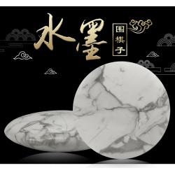 Pierres de Go Tradition à l'Encre Chinoise