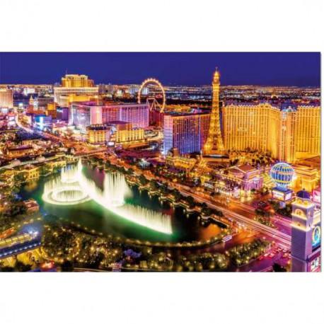 Puzzle 1000 pièces - Las Vegas (Neon)