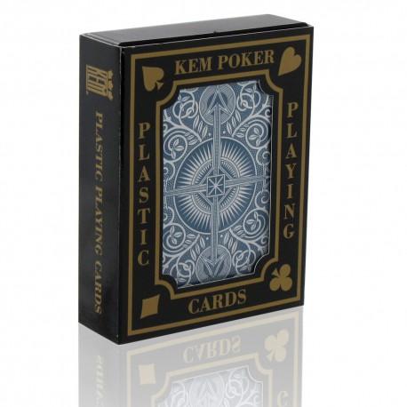 Cartes Kem Poker Arrow Bleu - Index Jumbo