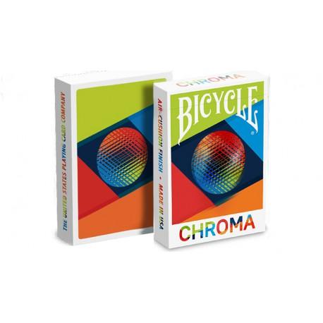 Cartes à jouer Bicycle Chroma