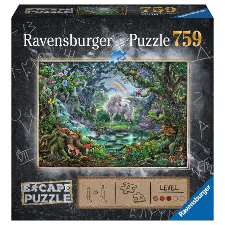 Puzzle 759 pièces - Escape: La Licorne