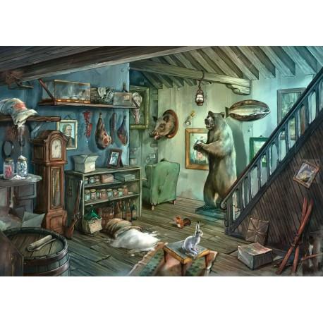 Puzzle 759 pièces - Escape: Dans la cave de l'effroi