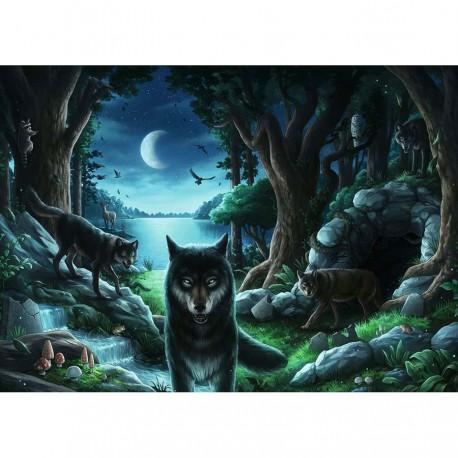 Puzzle 759 pièces - Escape: La meute de loups