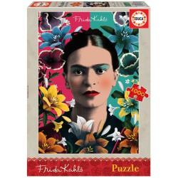 Puzzle 1000 pièces - Frida Kahlo