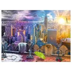 Puzzle 1500 pièces - Les 4 Saisons à New-York