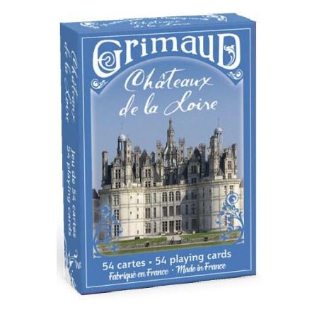 Cartes à jouer Chateaux de la Loire