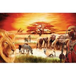 Puzzle 3000 pièces - La Fierté du Massai