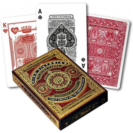 Cartes à jouer High Victorian - Red