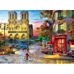Puzzle 1000 pièces - Notre Dame Sunset
