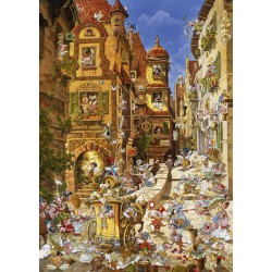 Puzzle 1000 pièces - Romantic Town By Day