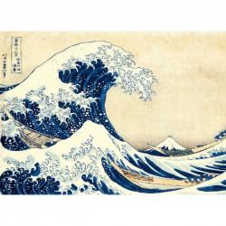 Puzzle 1500 pièces Hokusai - La Grande Vague de Kanagawa