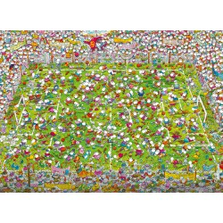 Puzzle 1000 pièces - The Match de Mordillo