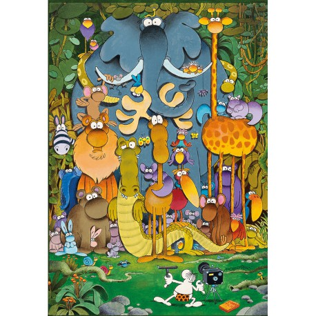 Puzzle 180 pièces - The Picture de Mordillo