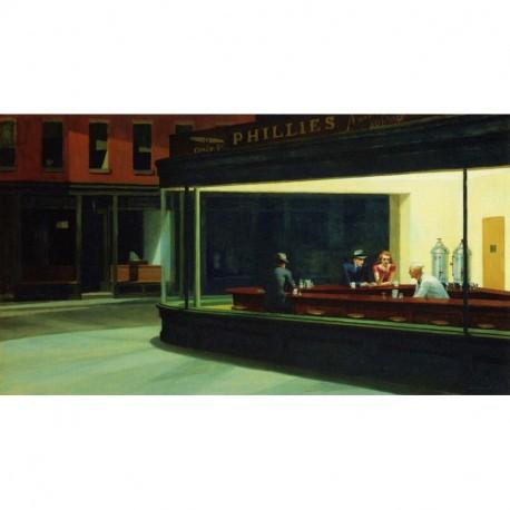 Puzzle 1000 pièces - Nighthawk de Hopper