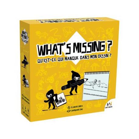 What's Missing ? Qu'est-ce-qui manque dans mon dessin ?