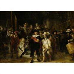 Puzzle 1000 pièces - Rembrandt : La Ronde de Nuit