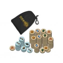 Endeavor - Sac velours et pièces en bois