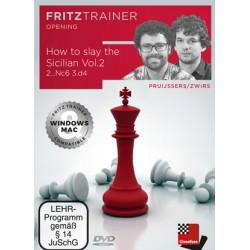 DVD Pruijssers/Zwirs - How to slay the Sicilian Vol.1 – 2...d6 3.d4