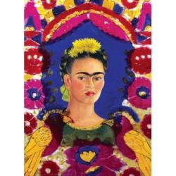 Puzzle 1000 pièces - Autoportrait de Frida Kahlo