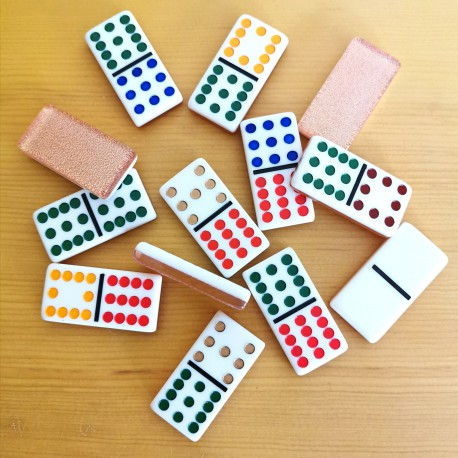 Domino Double 12 Champagne Back