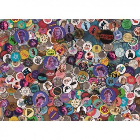 Puzzle 1000 pièces - Stranger Things - Impossible Puzzle