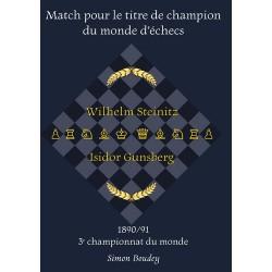 Simon Boudey - Match pour le titre de champion du monde d'échecs : 1890/91 3ème Championnat du Monde