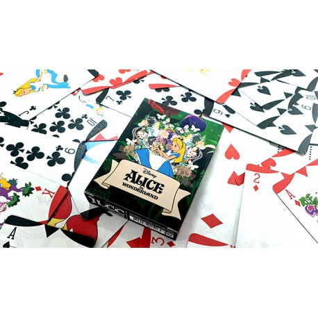 Cartes à jouer Alice in Wonderland - Collector