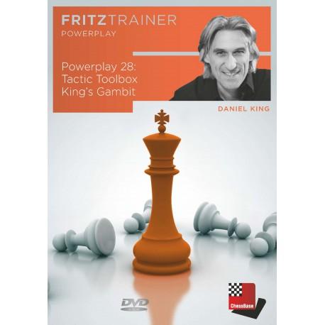 DVD King - Powerplay 28: Tactic Toolbox King's Gambit