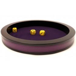 Piste de dés prestige violette 43 cm
