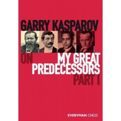KASPAROV - My Great Predecessors part I (couverture dure)