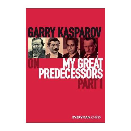 KASPAROV - My Great Predecessors part I (couverture dure)