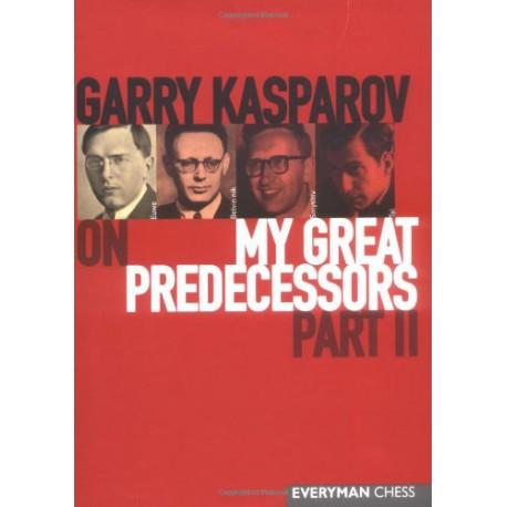 KASPAROV - My Great Predecessors part II (couverture dure)