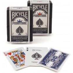 Cartes à jouer Bicycle Prestige 100% Plastique